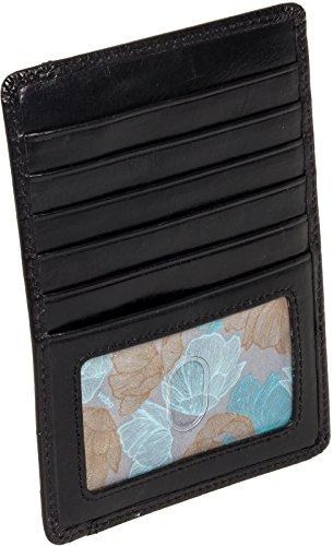 HOBO Vintage Euroslide Card Holder Wallet,Black,One Size