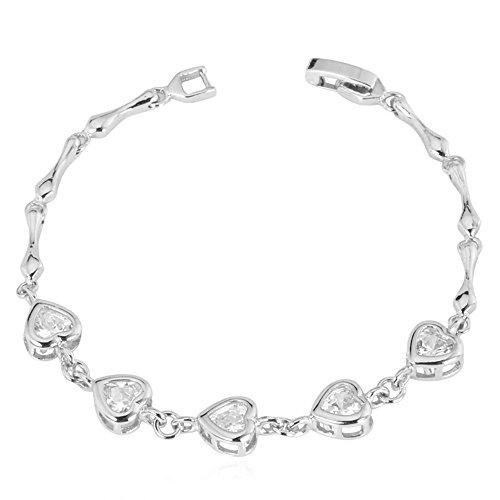 U7 Zircon Romantic Zirconia Bracelet