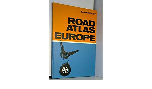 Road atlas Europe: John Bartholomew and Son: 9780851528168: Amazon.com: Books