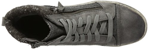 Womens Grey Trainers Comb Jana 26205 Graphite 4qwOzZgY