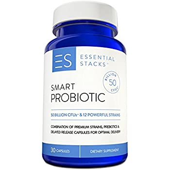 Amazon Com 50 Billion Probiotic Supplement With 12