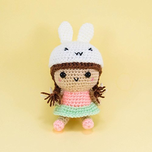 Amazon.com: Flower Girl, Organic Amigurumi Doll, Handmade Toys ...   500x500