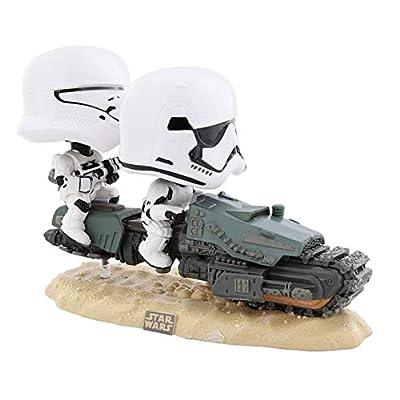 Funko Pop! Movie Moments Star Wars: Episode 9, Rise of Skywalker - First Order Tread Speeder: Toys & Games
