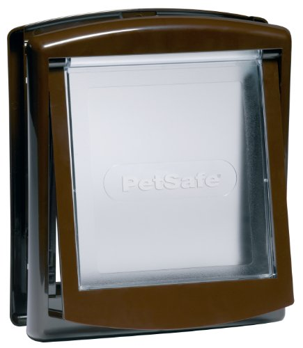 Petsafe Staywell Original 2-way Pet Door - Small - Brown (730efs)