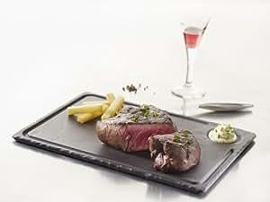 Revol - Plato para carne (basalto, 33 x 24 x 1 cm)
