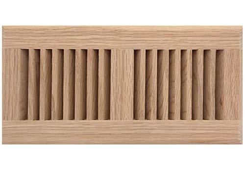 8 inch by 16 oak floor register - 9