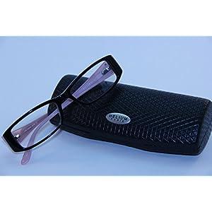 Helium Paris Womens Eyeglasses 4178 Black Pink Optical Frame Rhinestones