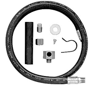 Jabsco Type (Jabsco Permanent Oil Drain Hose Kit (Permanent and Fitting))