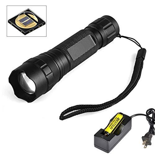 BESTSUN 940nm IR Illuminator Infrared Light Night Vision Adjustable Focus LED Flashlight Torch Kit for Hunting Coyote Hog Predator Thermal Pig Fox Rat