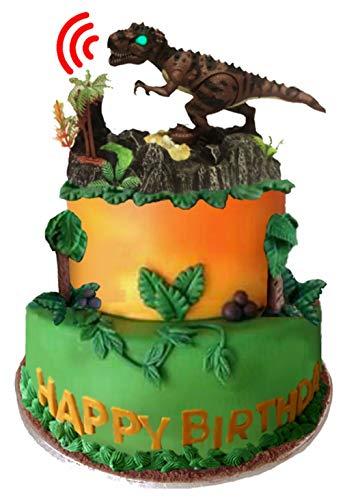 Dinosaur Roar Cake Topper Rex by Discover Jurassic World