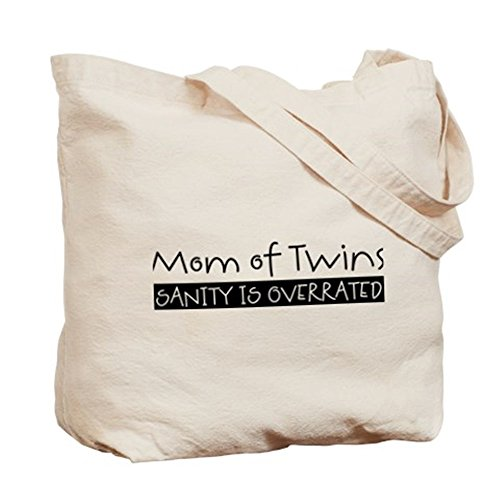 CafePress–Sanity è sopravvalutato Tote Bag–Borsa di tela naturale, panno borsa per la spesa