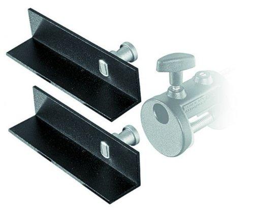 Mini Autopole - Manfrotto 204 Mini L-Brackets for Mini Clamp - Replaces 2948 (Set of 2)
