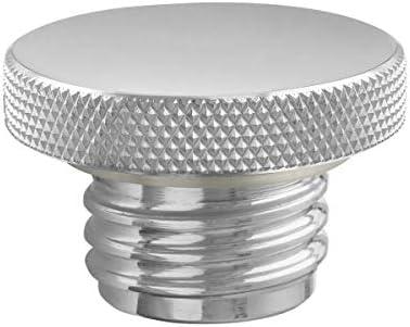 カスタム アルミニウム ガスキャップ - フラット トップ - 通気孔付き