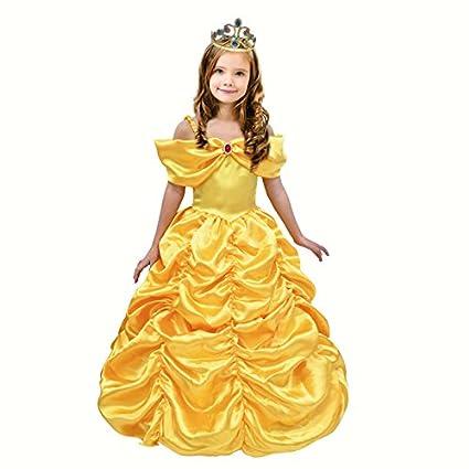 Partilandia Disfraz Princesa Bella para niña (2-4 años)