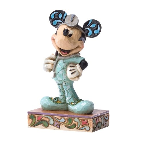 Enesco Disney Traditions by Jim Shore Doctor RN Mickey Figurine, 4.5-Inch