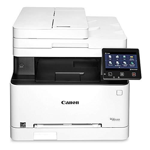 Canon Color imageCLASS MF644Cdw - All in One, Wireless, Mobile Ready, Duplex Laser Printer, White, Mid Size, Amazon Dash Replenishment enabled (Canon Printers Laser Wireless)