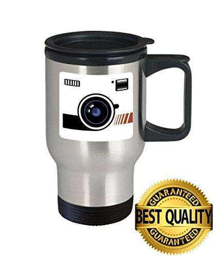 BEST QUALITY, Photographer Travel Mug, Best Gift For Photographer Cup, 14oz Stainless Steel, by - For Glasses Can I Get Clear My Where Lenses