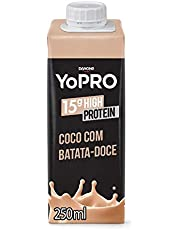 YoPRO Bebida Láctea UHT Coco com Batata-Doce 15g de proteínas 250ml