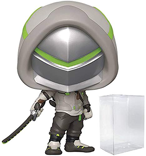 Funko Pop Games Overwatch - Genji (Overwatch 2) Pop! Vinyl Figure (Includes Compatible Pop Box Protector Case)