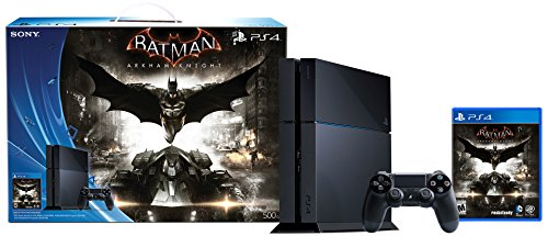 Consola PlayStation 4 de 500 GB - Paquete Batman Arkham Knight [descontinuado]
