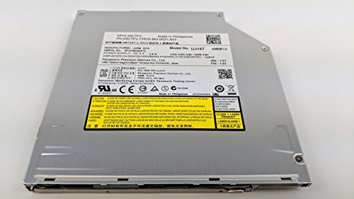 Dell Laptop BD-ROM Blu Ray Drive UJ167 5CTFV Slot Load SATA 05CTFV - Dell Blu Ray Laptop