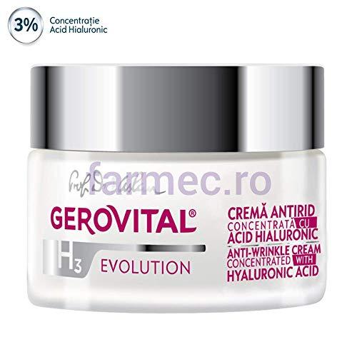 Gerovital Crema anti arruga dia y noche de ácido hialurónico ...
