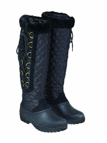 Matchmakers Women's Harry Hall Polar Boot Black Lf4eYrzDV