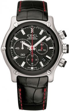 Ebel-1911-BTR-Black-Strap-Dial-Chronograph-Mens-Watch-9137L735335145RS