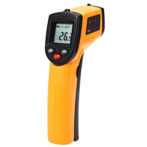 Digital Infrared Thermometer,-50 to 380 -58 to 716 ,GM320 Non-Contact Laser LCD Display Digital IR Temperature Tester Gun