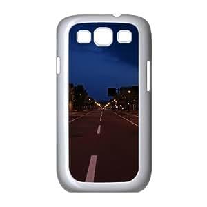 Samsung Galaxy S 3 Case, street city Case for Samsung Galaxy S 3 White