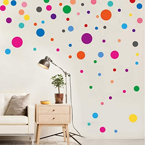 PARLAIM Stickers Bedroom Multicolor Circles product image
