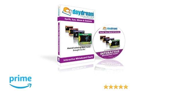 Amazon.com: Daydream Education Interactive Whiteboard Earth, Sun ...