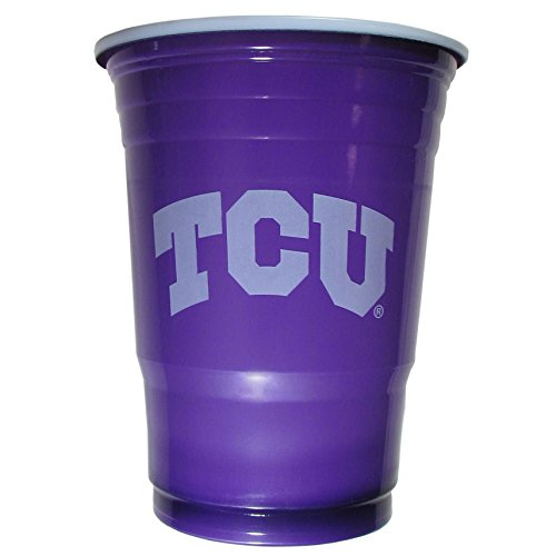 NCAA Tcu Horned Frogs Plastic Game Day Cups, Purple, Adult