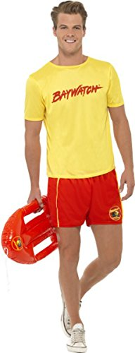 Baywatch Beach Costume - Large - Chest Size 42-44 ()