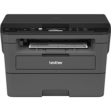 Brother Compact Monochrome Laser Printer, HLL2390DW, Convenient Flatbed  Copy & Scan, Wireless Printing, Duplex Two-Sided Printing, Amazon Dash