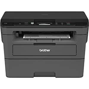 amazon com brother compact monochrome laser printer hll2390dw