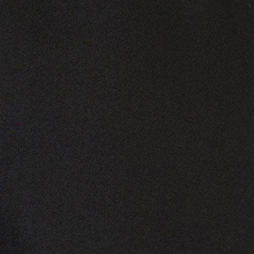 La Frau R Schwarz Kleid Trapezform Mit Unifarbenes Spitzen Mademoiselle Redoute