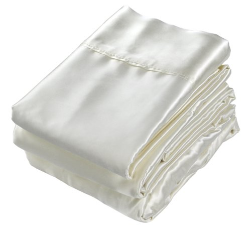 UPC 602862719115, Silk Charmeuse Sheet Set - Ivory - Twin set