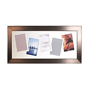 Inov8 Photo Frame, Twin Edge Chrome, -Inch, Pack Of 4