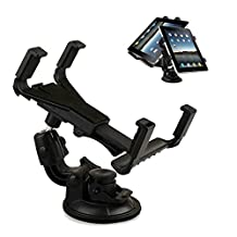Tsmine Universal Car Mount - Windshield Dashboard Car Mount Holder Cradle for Asus Fonepad 8 8-Inch Tablet and All 7 Inch and 10.1 Inch Tablet