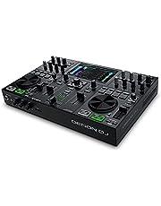 Denon DJ PRIME GO - Draagbare DJ-set/Smart DJ-console met 2 decks, wifi-streaming, 7-inch HD-touchscreen en oplaadbare batterij