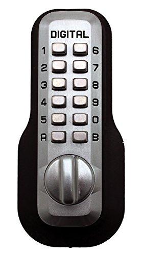 Digital Door Lock M210 Mechanical Keyless Deadbolt, Marine ()