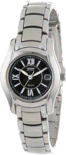 Citizen Women's EW0620-52E Eco-Drive Stainless Steel Watch