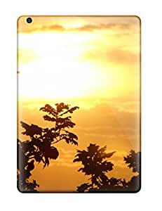 Air Scratch-proof Protection Case Cover For Ipad/ Hot Golden Sky Tree Nature Other Phone Case
