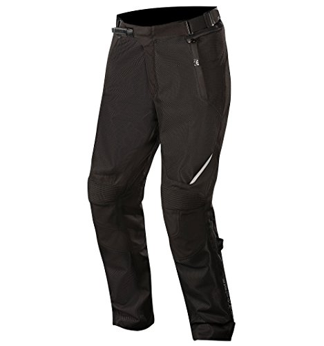Air Textile Pants (Wake Air Textile Street Motorcycle Over Pants (L, Black Black))