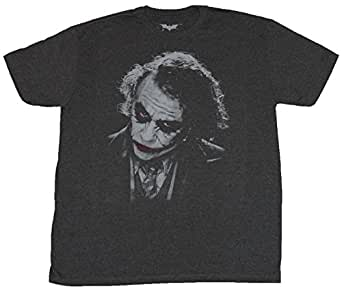 Amazon.com: Batman (DC Comics) Mens T-Shirt - Heath Ledger