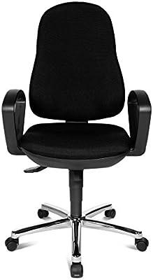 Combinaison Chaise En AcierMétalNoir Syncro Bureau De ZPOukXi
