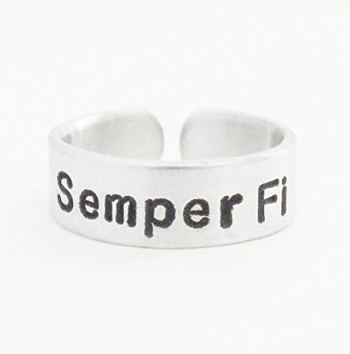 aluminum-semper-fi-ring-gift-for-marine