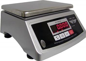 PROMOTION : Balance de cuisine professionnelle inox et étanche 12kg on