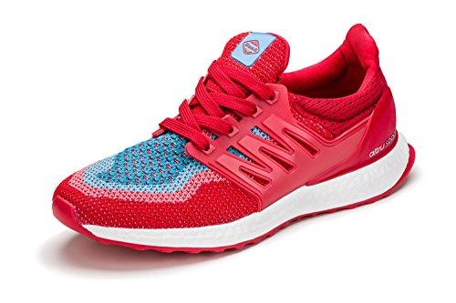 41 Sport Lady KREXUS Leichte Rot Sportschuhe Verschiedene EU Farben blau Sneaker Damen 36 pT0Bq0wa